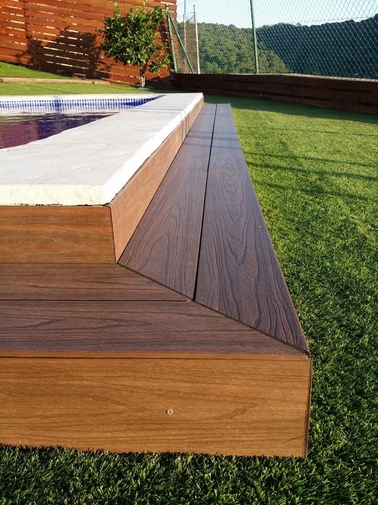 Tarima exterior sintetica latest simple tarima exterior - Tarima sintetica exterior precio ...